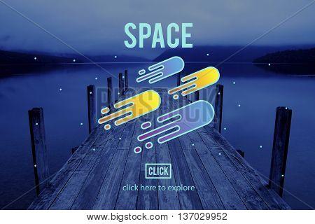 Science of Astronomy Exploration Nebular Concept