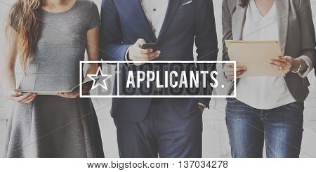 Applicant Job Application Career Hire Concept