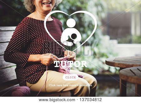 Tutor Educator Teacher Care School Concept