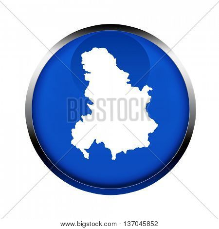 Serbia and Montenegro map button in the colors of the European Union.