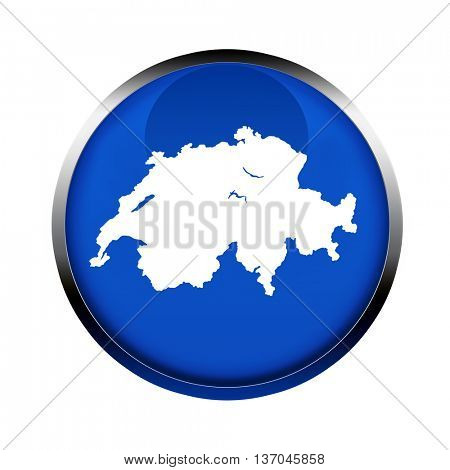 Switzerland map button in the colors of the European Union.