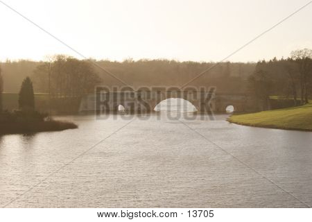 Sunshine Over The Lake