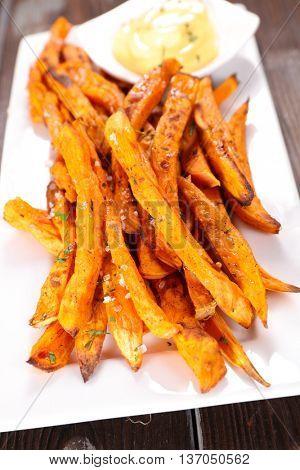 sweet potato fried