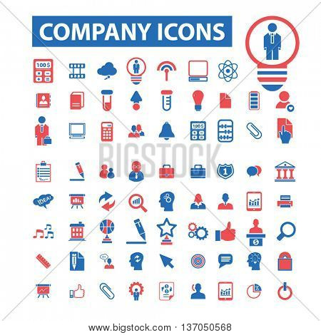company, business, partner, team, management, community, workforce, human resources, user, leader, social media, global communication, person, meeting, discussion, employee icons, signs set