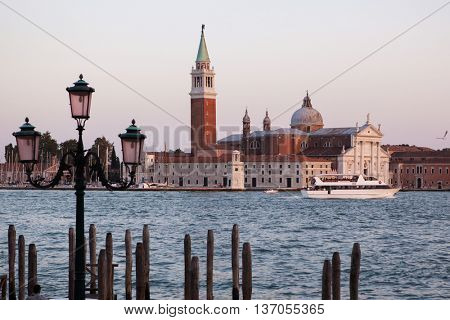 Famous San Giorgio Maggiore church