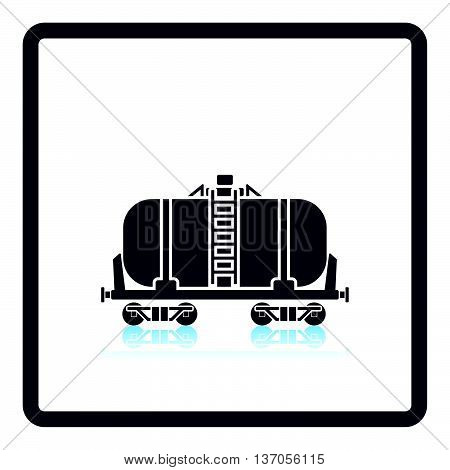 Oil Railway Tank Icon