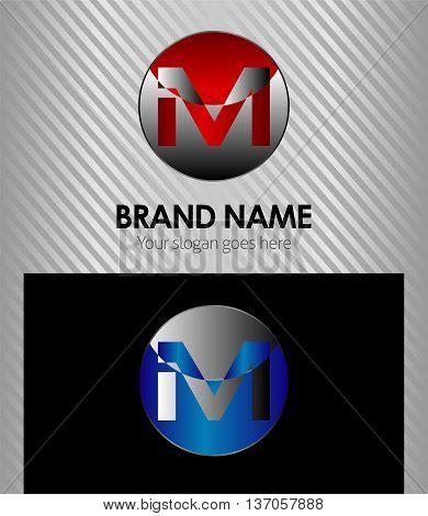 Letter M logo Letter M logo template design vector