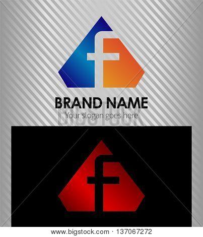 Letter F Letter F template design vector