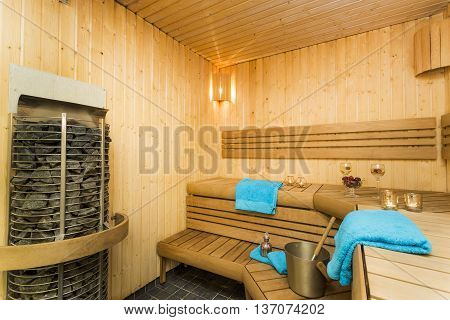 Sauna - Perfect time for spa and massage!