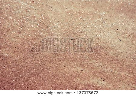 Background of natural brown wet clay texture