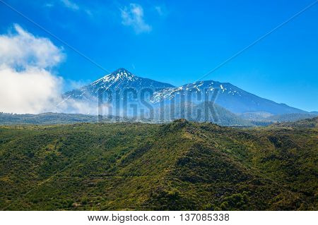 Landscape With Mount Teide