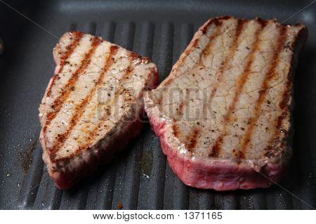 Griddled Steaks