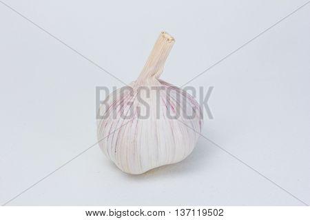 Garlic  The vegetable food of  healty natural