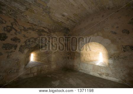 Fortaleza Ozama Santo Domingo Interior Jail Cell