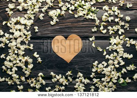 Acacia Petals Decorative Frame