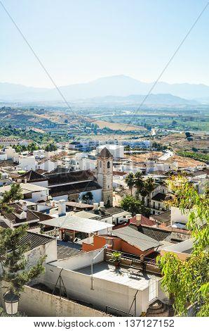 Andalusian Village Of Cartama, Malaga Province, Andalusia, Spain