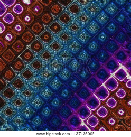 Abstract Wonderful Glass Design Illustration 3D Background Object