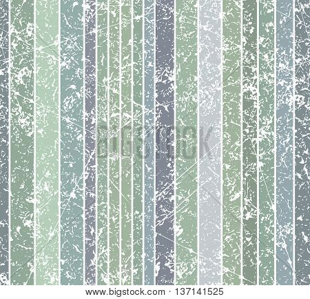 Seamless Burn Color Dim Grunge Style Shabby Full Color Stripe Pattern. Vector Illustration For Your