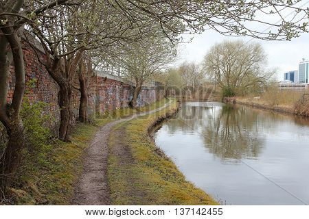 Canal Walk In Manchester