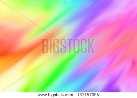 Abstract graphic paint rainbow colorful background. Brush color pattern background.
