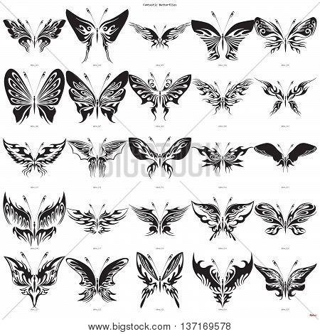 Fantastic Butterflies 1-25
