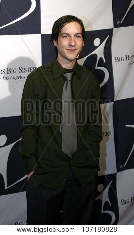 Chris Marquette at the Big Brothers Big Sisters of greater Los Angeles 'Rising Stars' 2004 Gala at the Beverly Hilton Hotel in Beverly Hills, USA on November 11, 2004.