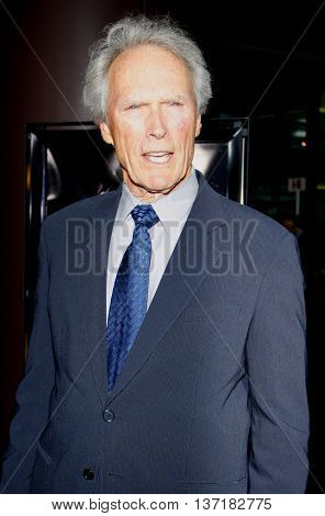 Clint Eastwood at the Warner Home Video Salutes 'Dirty Harry' Film Franchise held at the Directors Guild of America Theater in Hollywood, USA on May 29, 2008.