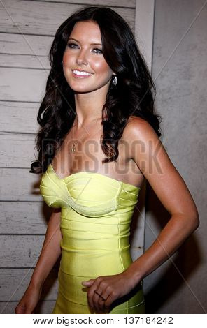 Audrina Patridge at the Maxim's 2008 Hot 100 Party held at the Paramount Studios in Hollywood, USA on May 21, 2008.