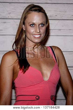 Amanda Beard at the Maxim's 2008 Hot 100 Party held at the Paramount Studios in Hollywood, USA on May 21, 2008.