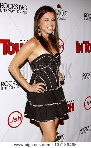 Parvati Shallow at the Summer Stars Party 2008 held at the Social in Hollywood, USA on May 22, 2008.