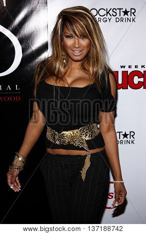 Traci Bingham at the Summer Stars Party 2008 held at the Social Club in Hollywood, USA on May 22, 2008.