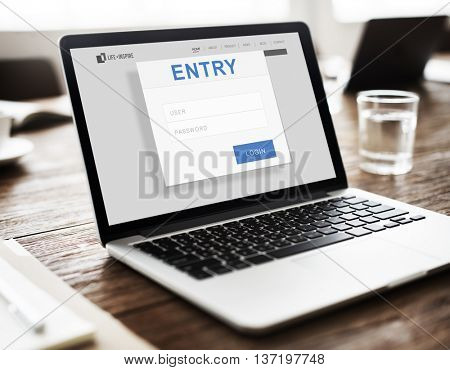 Entry Authorization Permission Accessible Security Concept