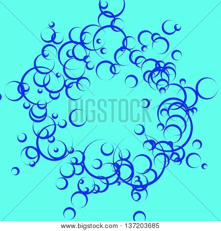 Sparkling Background With Bubbles. Abstract Pattern For Water Related Themes. Underwater, Fizzy, Car