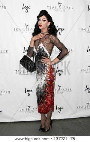 NEW YORK-JUN 25: Violet Chachki attends Logo TV's