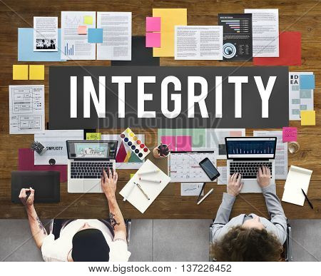 Integrity Ethics Loyalty Moral Motivation Respect Concept