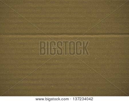 Blue Corrugated Cardboard Background Sepia
