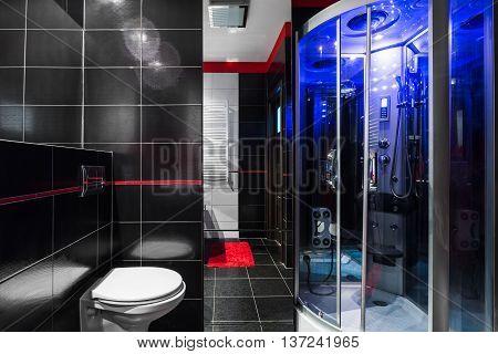 Luxe High-tech Bathroom Idea