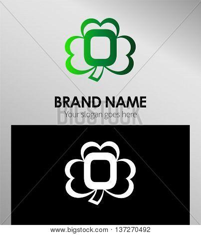 Alphabetical Clover Logo Design Concepts. Letter O