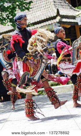 Javanese Traditional Dancers