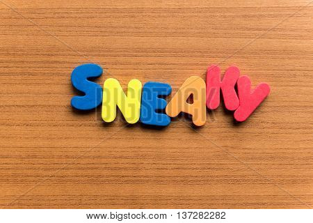 Sneaky Colorful Word