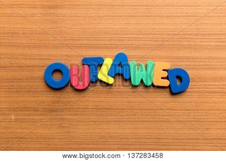 Outlawed Colorful Word