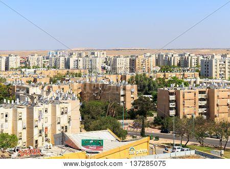 Beersheba, Israel - May 12, 2016: Residential Buildings