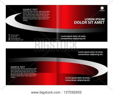 Flyer, leaflet, booklet layout. design template template design vector