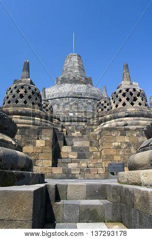 Buddist Temple Borobudur