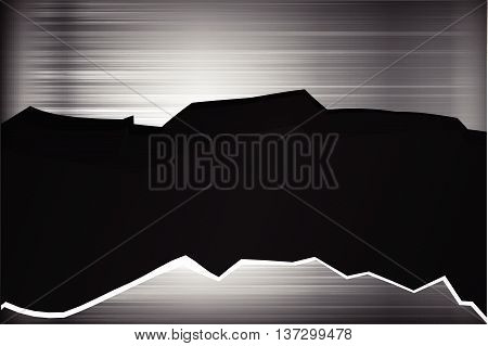 Dark chrome black and grey background texture vector illustration eps10