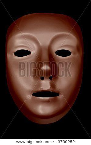 Bronze Drama Mask