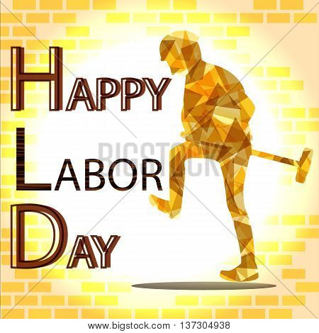 happy labor day background for holiday festival