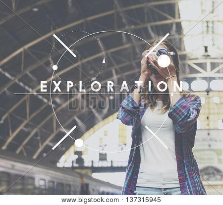 Travel Destination Excursion Itinerary Concept