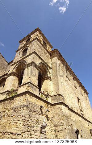 San Francesco church, Enna, Sicily.