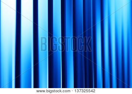 Vertical blue curtains illustration backgroundVertical blue curtains background